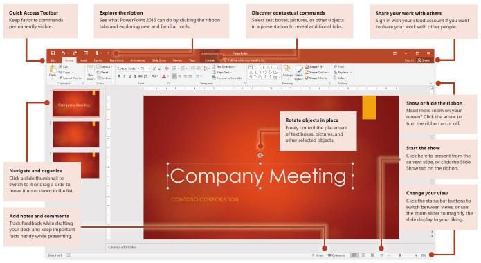 How do I use PowerPoint 2016? (For PCs) – Maranatha