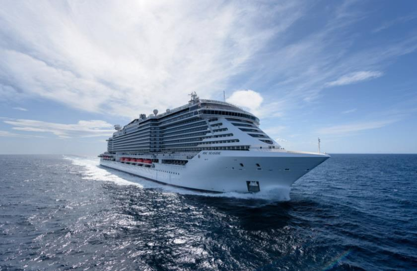 Gallery: MSC Seaside Christened in Miami with a Bang – World