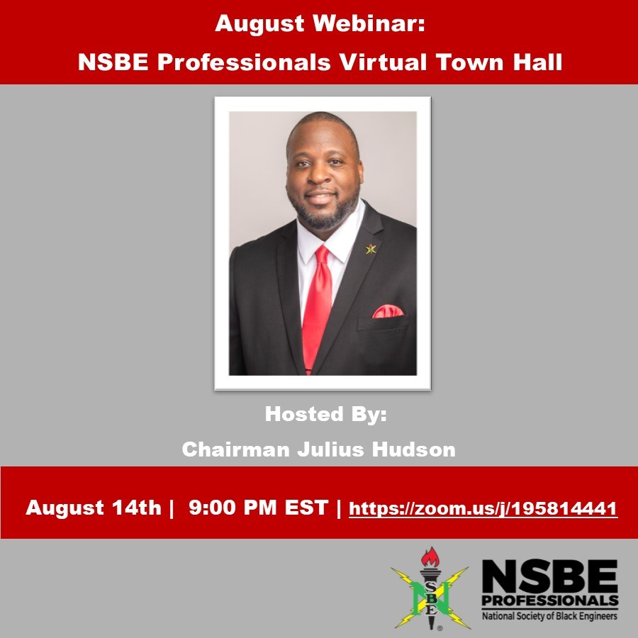 August] 2019 NSBE Professionals eNews
