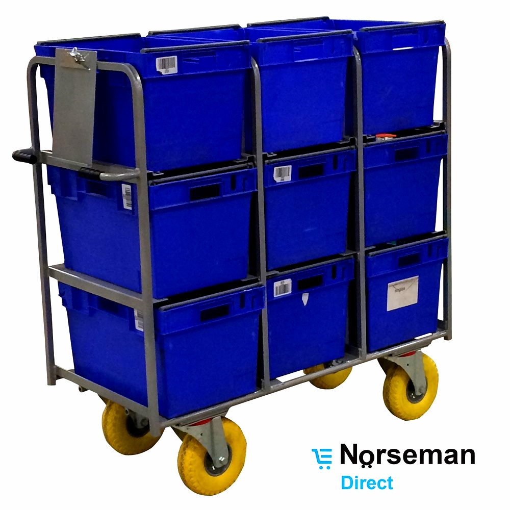Industry - Picking & Nesting Trolleys - Norseman Direct
