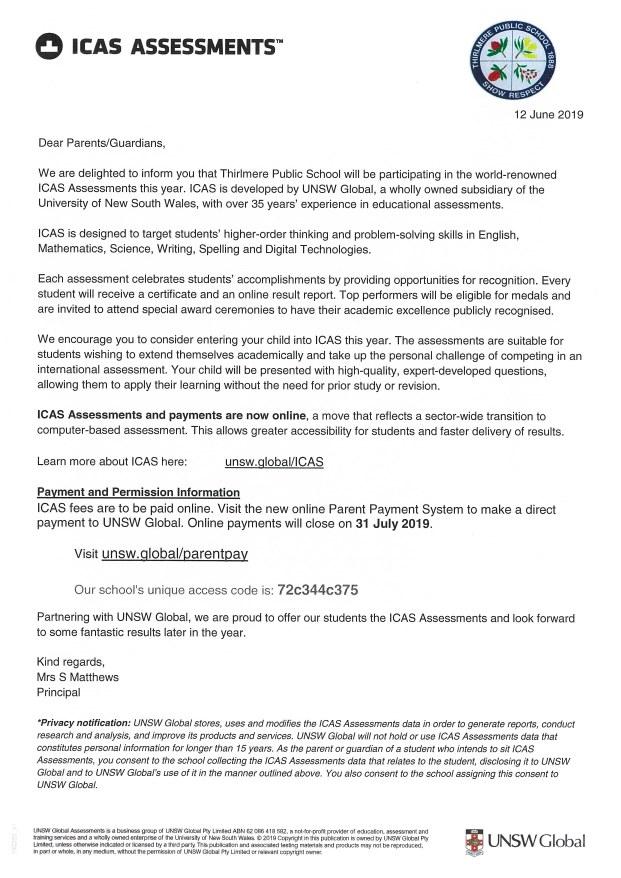 TPS Term 2 Week 8 2019 Newsletter