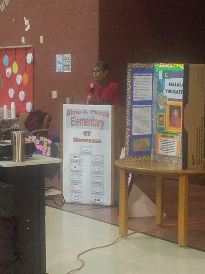 GT Winter Showcase Alma Pierce Elementary (Accessibility view)