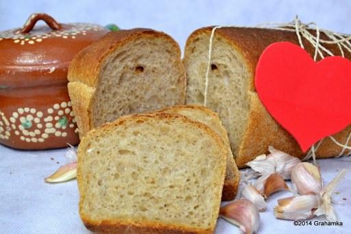 Grahamka, weka i kajzerka...: Chleb na zakwasie z ...