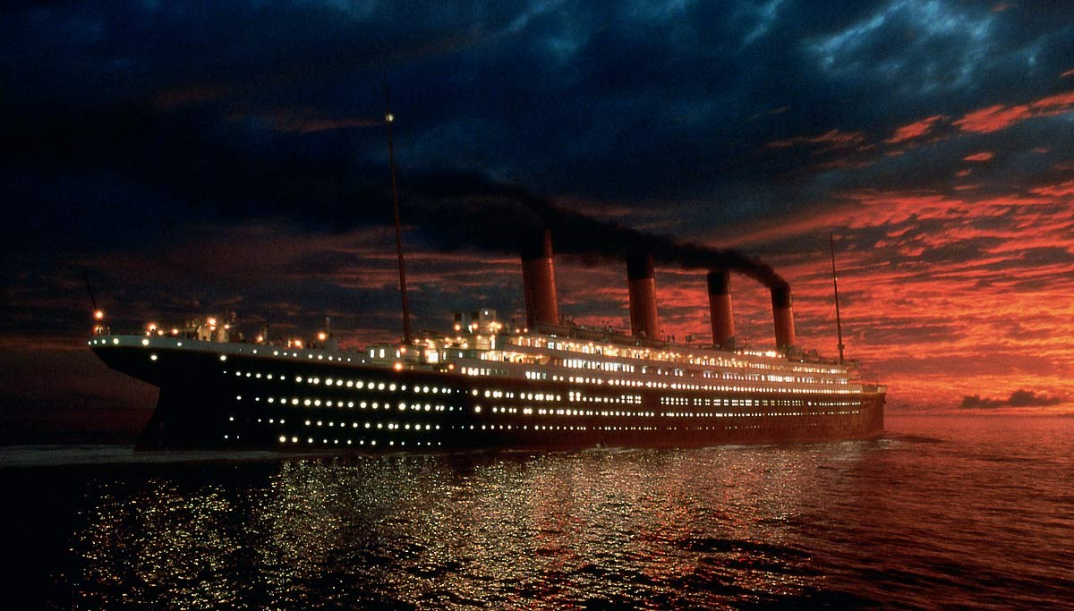 Titanic, 1997, leonardo dicaprio, kate winslet - 56 (Moderado)