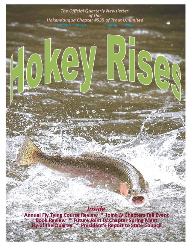 Hokey Rises Quarterly Newsletter Archive/2019-2015