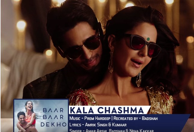 YouTube India's top music videos for 2016: Kala Chashma