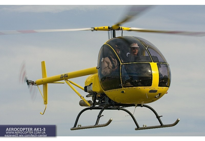 AEROCOPTER AK1-3 THE BEST LIGHT UTILITY HELICOPTER