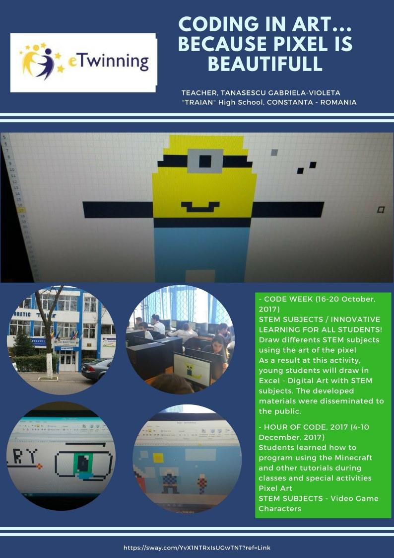 Digital Art with Microsoft Excel - Microsoft in Education