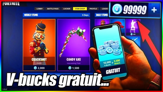 New] Fortnite Hack Free V Bucks Code Generator unlimited 2019