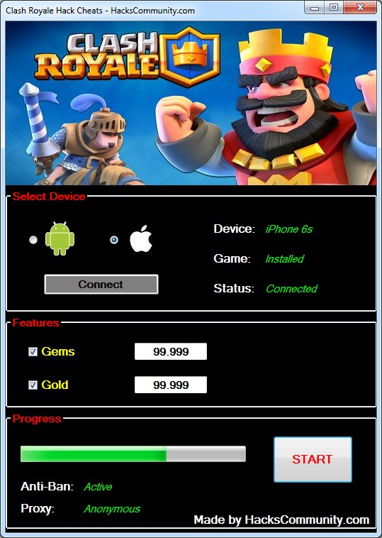 clash royale hack cydia 2018